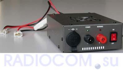 VEGA PCS-745 преобразователь напряжения для радиостанции низкопрофильный 19-30V/13.8V, 40/45A. Купить преобразователь напряжения
