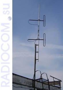Петлевая антенна круговая  D2 VHF