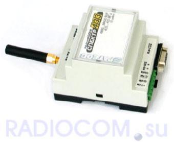 """Беспроводной радио-модем """"Спектр-433"""" (исполнение DIN)"""