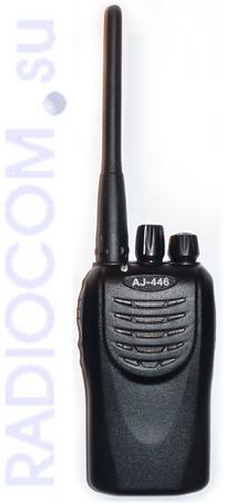 AJ-446 безлицензионная радиостанция