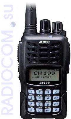 ALINCO DJ-100 -    портативная радиостанция