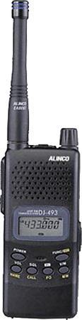 Alinco DJ 493 - переносная радиостанция
