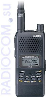 Алинко DJ T-593 MK II - двухдиапазонная носимая радиостанция