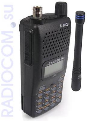 Алинко DJ T-596 MK II - двухдиапазонная носимая радиостанция