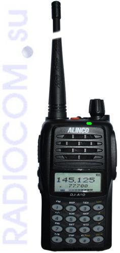Alinco DJ A10 - новая  миниатюрная носимая рация
