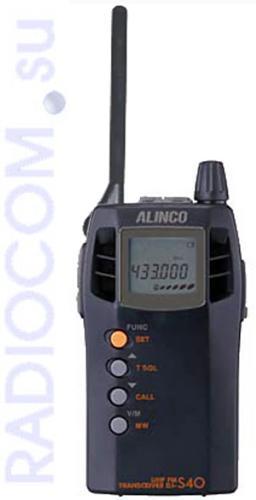 ALINCO DJ-S40 (CQ/CQR) - компактная переносная радиостанция