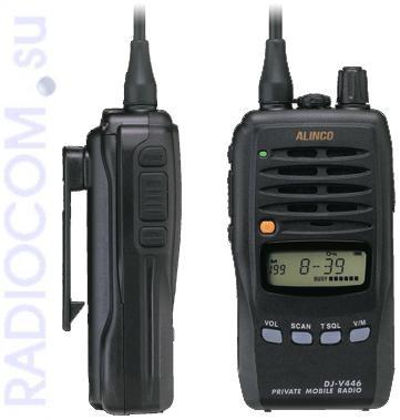 Alinco DJ V 446 - миниатюрная носимая радиостанция