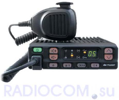 Радиостанция ГРАНИТ 2Р-21 автомобильная (33-48,5 / 57-57.5 МГц)