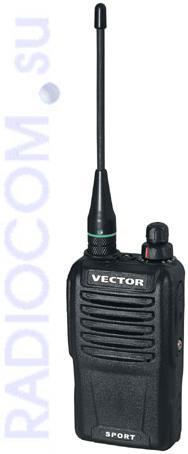 Вектор VT-47 Sport эргономичная радиостанция